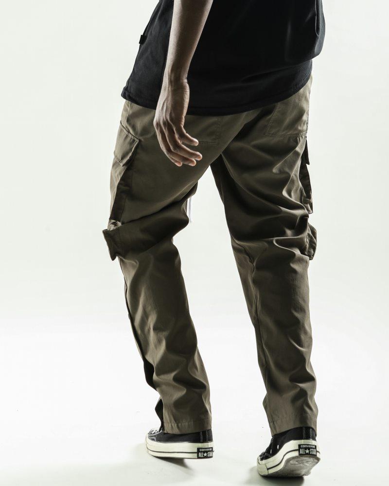 《2色》ビッグポケットサイドスナップカーゴジョガーパンツの画像9